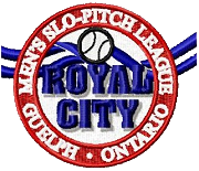 Royal City Men's Slo-Pitch Logo